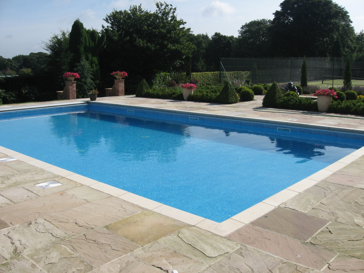 Swimming pool construction aqs group for Pool design types