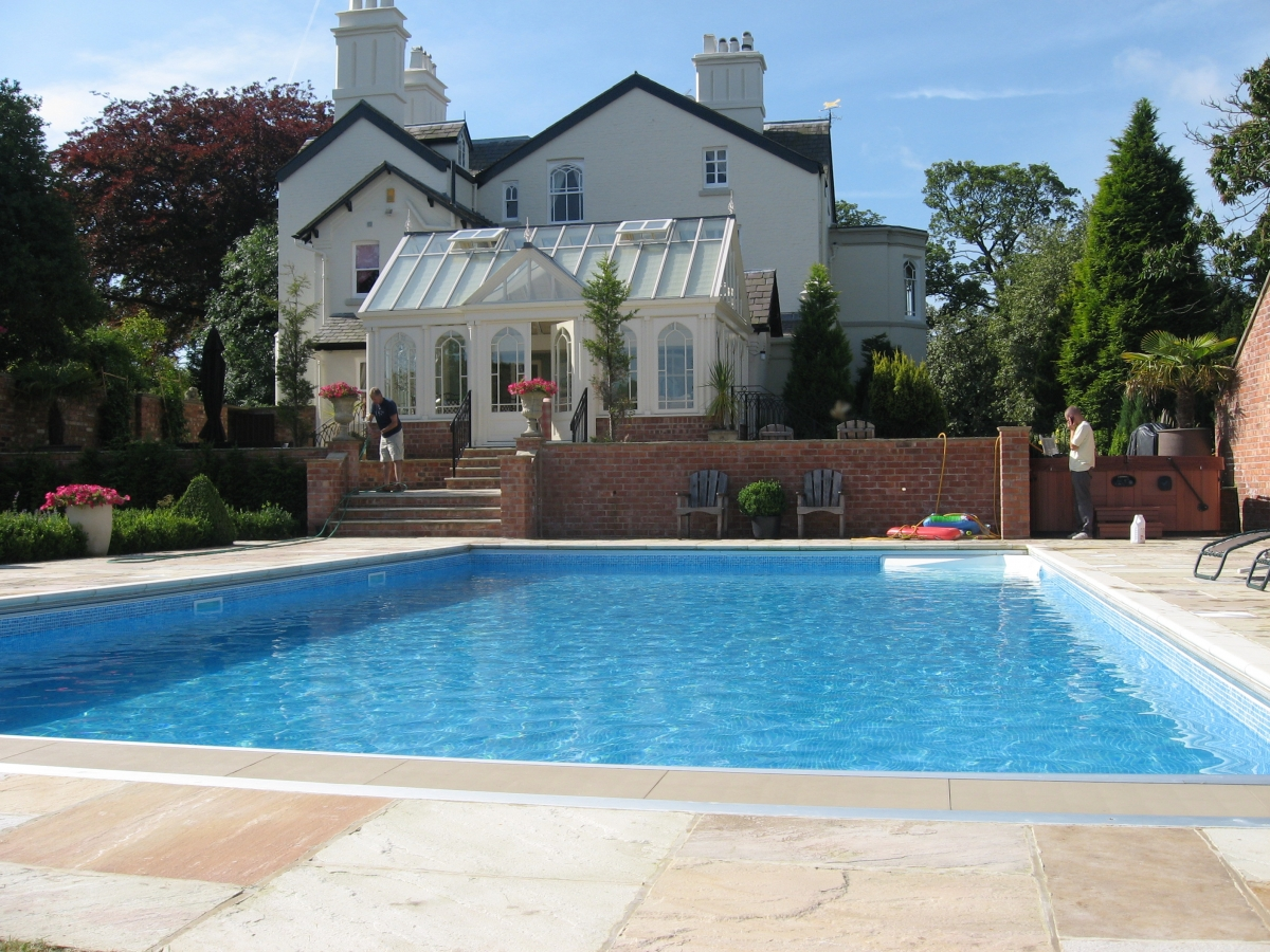 Swimming pool construction aqs group - Swimming pool builders ...