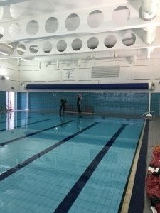 Commercial Pool Cover Install